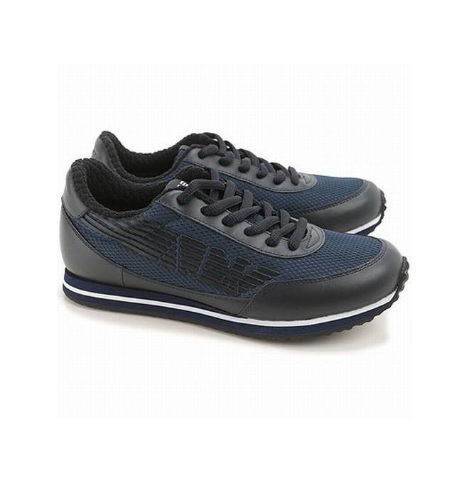7952bd95fb ARMANI JEANS pánské boty kožené ITALY vel.40 SLEVA modrá