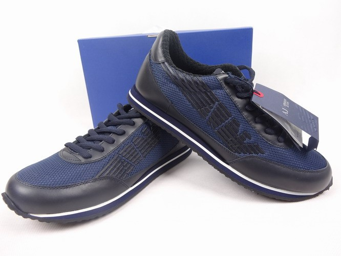 f83e5d4f74 ARMANI JEANS pánské boty kožené ITALY vel.40 SLEVA. Popis