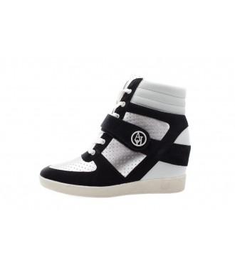 ARMANI JEANS dámské kožené Sneakersy TENISKY NEW SLEVA ... 8471c428e5