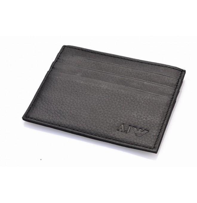 ARMANI JEANS card holder peněženka kožená 1348aec791