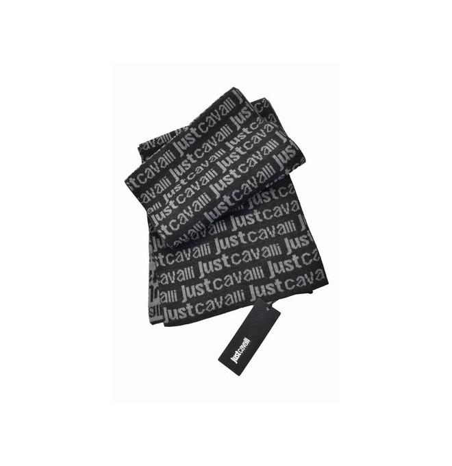 Do úschovny Do košíku. JUST CAVALLI Nová luxusní pánská šála BLACK -40%%%.  Popis 3d3e592555
