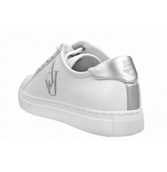 Do úschovny Do košíku. ARMANI JEANS Dámské Sneakersy TENISKY bílé SLEVA db4885725d