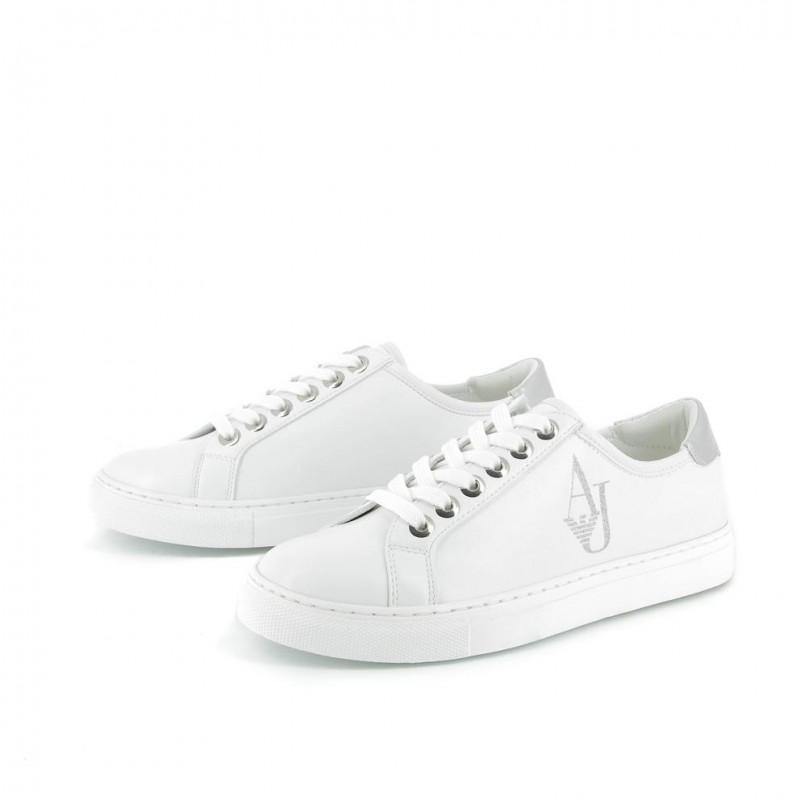 ARMANI JEANS Dámské Sneakersy TENISKY bílé SLEVA bílá f801c963cf