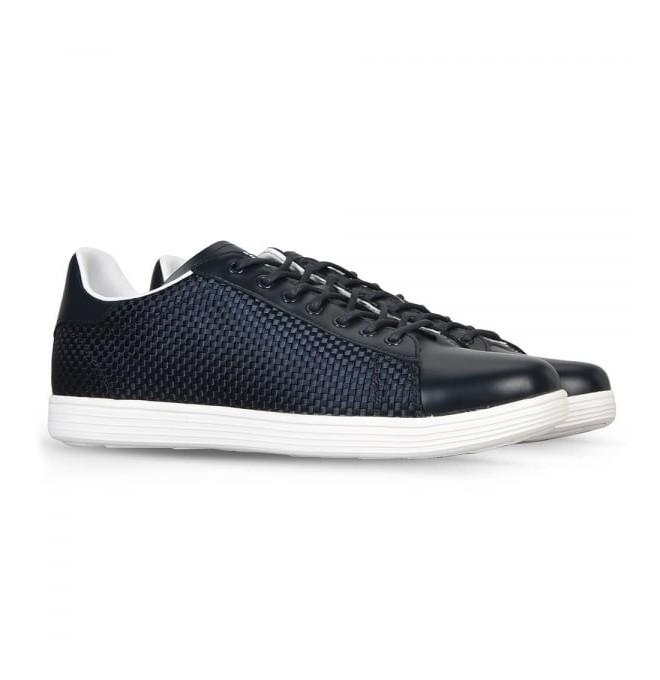 ARMANI JEANS pánské tenisky kožená obuv BLACK 2017 černá d8f2bc6a222