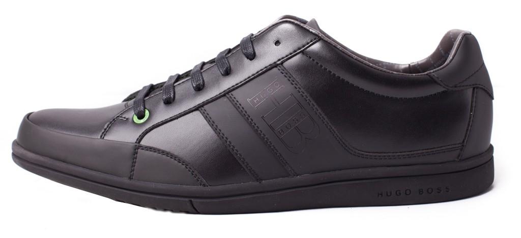 2b7eae9b06 HUGO BOSS GREEN pánské boty sneakersy BLACK -40%%% černá