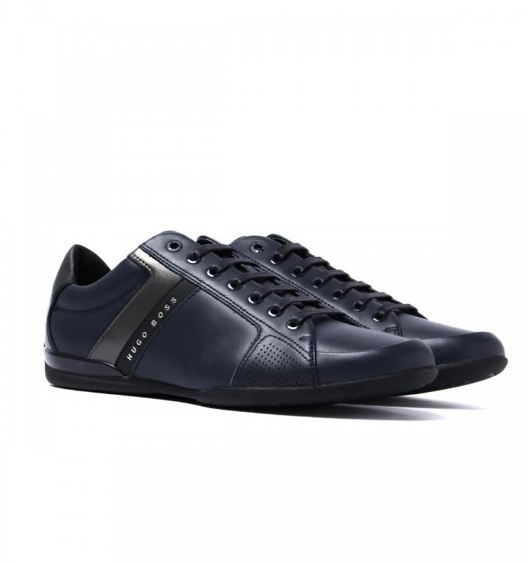 8ffb5764927 HUGO BOSS BLACK pánské boty sneakersy 2018 %%% modrá