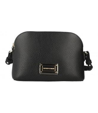 2a6105daa2 EMPORIO ARMANI značková dámská kabelka pošťačka BLACK