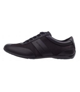 4b9e2b3c80 EMPORIO ARMANI pánské boty sneakersy kožené 2019