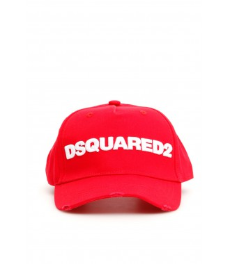 DSQUARED2 nová kšiltovka RED ORIGINAL